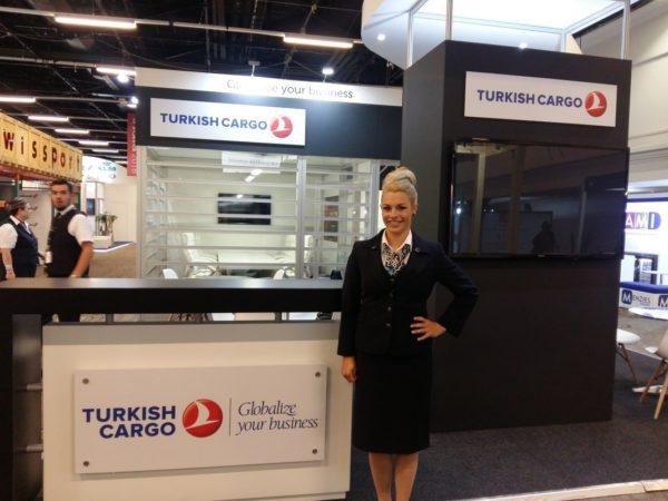 Turkish Cargo - Expo Stand Hostess & Uniform