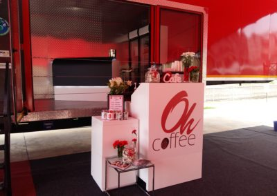 3D Design Client Day - Specialty coffee bar with Coffee in a Cone™ served by our gorgeous Oh Agency host and hostesses @ 3D Design HO
