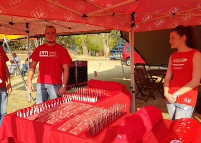 Vodacom 4U Brand Ambassadors & Activation @ Marks Park
