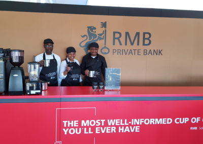 RMB - VIP Lounge Specialty Coffee & Health Smoothie Bar @ The Inanda Club
