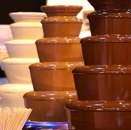 Candy Bar Chocolate Fountain