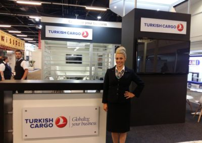 Turkish Cargo - Expo Stand Hostess & Uniform