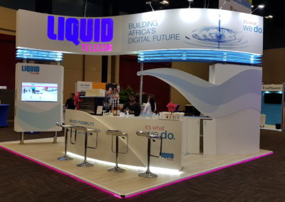 Liquid Telecom - Health Smoothie, Cocktail & Specialty Coffee Bar @ Durban ICC