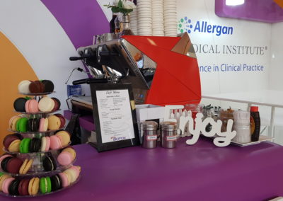 Allergan - Specialty Coffee & Confectionery Macaron Bar