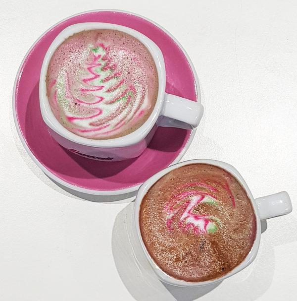 Mobile Glittercino Bar - Green and Pink 2