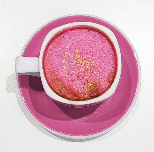 Mobile Glittercino Bar - Pink and Gold
